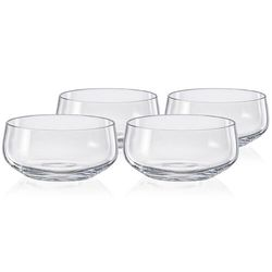 Crystalex 4dílná sada misek Mini Bowls Clear Clear, 95 ml